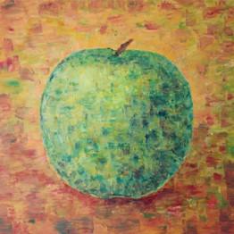 """Картина """"Есенно предизвикателство в зелено"""""""