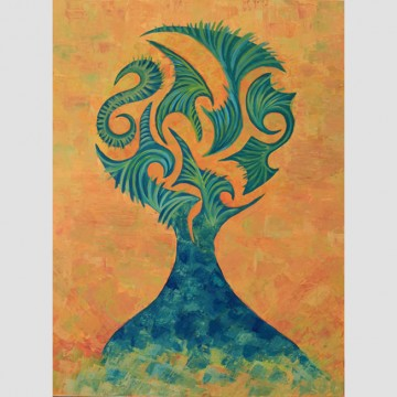 """Картина """"Духът на дървото""""  от www.did-m.com"""