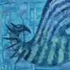 """Картина """"Птица в дъжда""""  от www.did-m.com"""