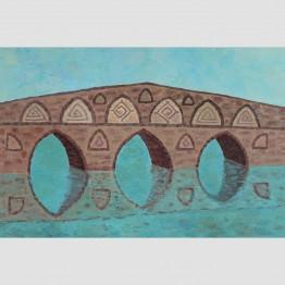 Картина Мост и символи