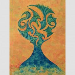 Картина Духът на дървото