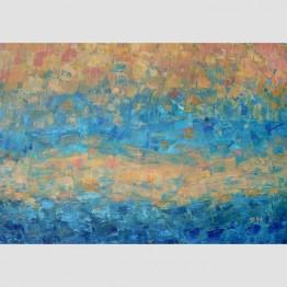 """Картина """"Слънце след дъжд"""""""